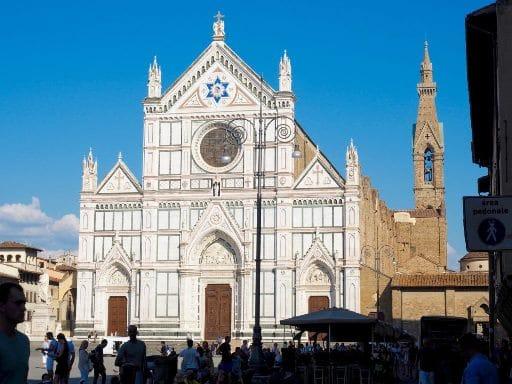 La basilique de Santa Croce