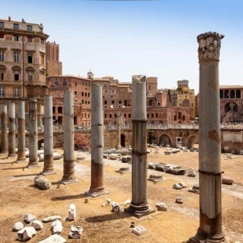 Forum antique à Rome