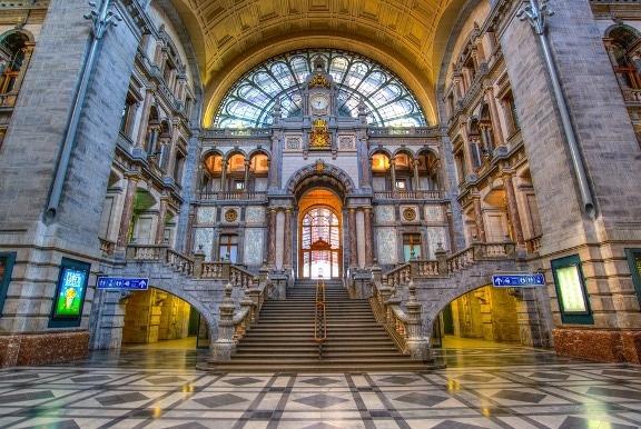 La gare centrale d'Anvers