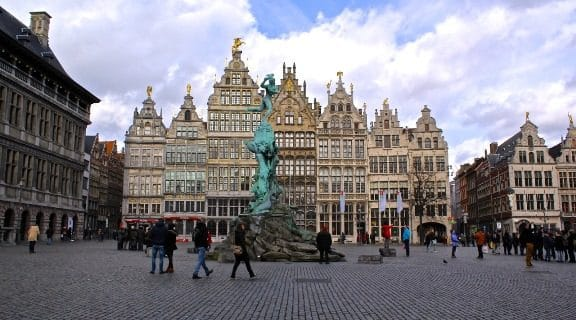 grote markt Grand-Place d'Anvers