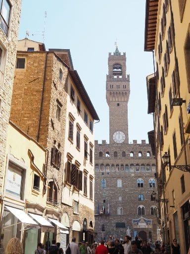 La mairie de Florence - Palazzo Vecchio