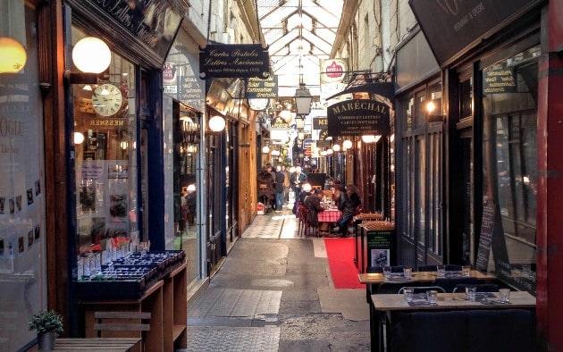 Passages secrets de Paris