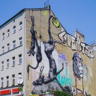 street-art à Berlin