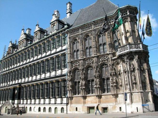 Mairie de Gent en Belgique