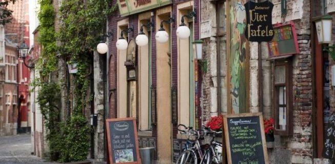 Patershol à Gand en Belgique