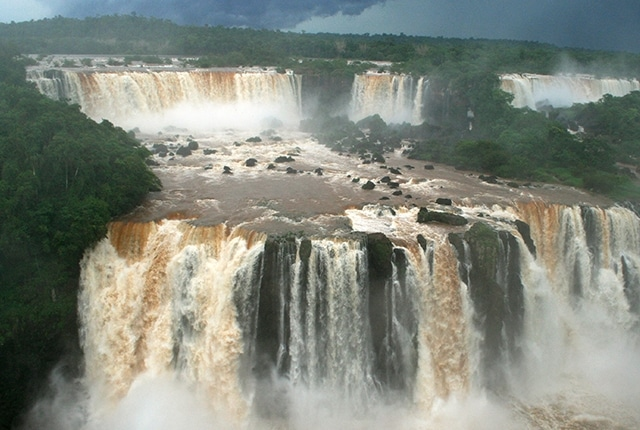 Les spectaculaires chutes d'Iguazu