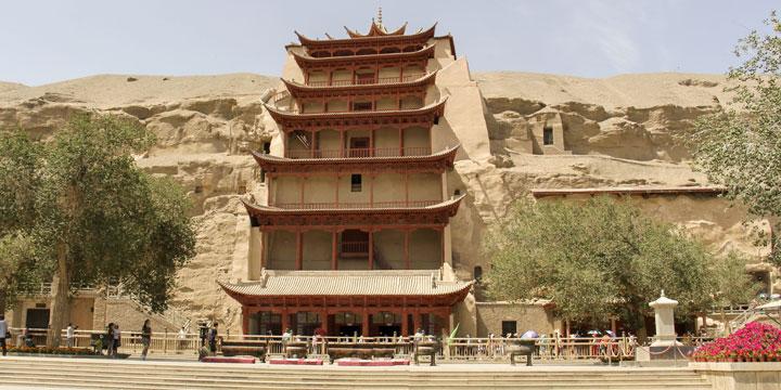 Grottes de Mogao, Gansu