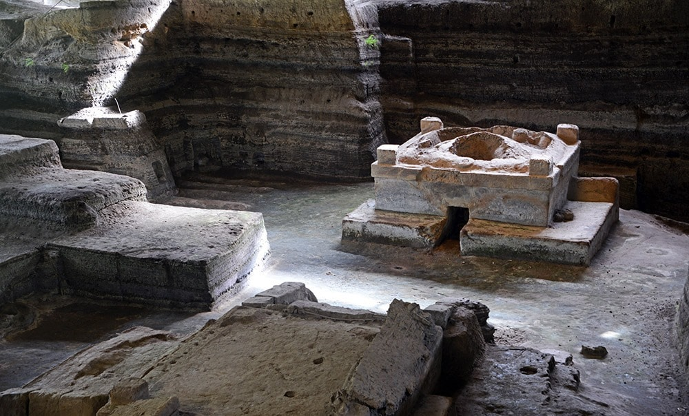 Les ruines antiques de Joya de Ceren