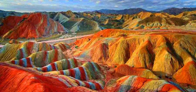 Merveilles naturelles en Chine