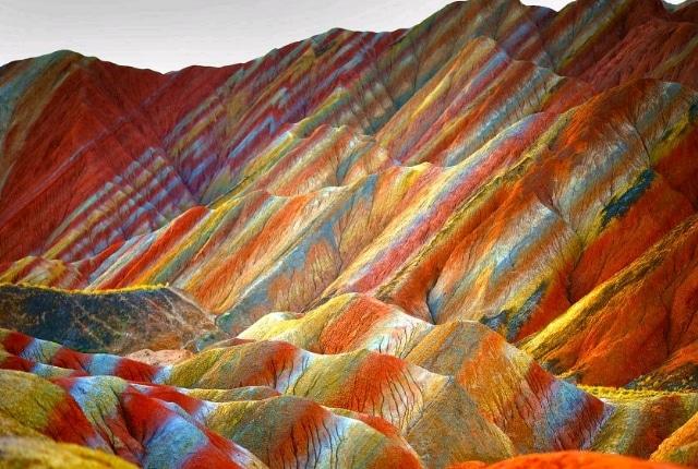 Les montagnes de Danxia