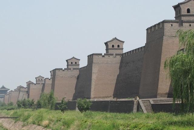 Le mur de la ville de Pingyao Ming