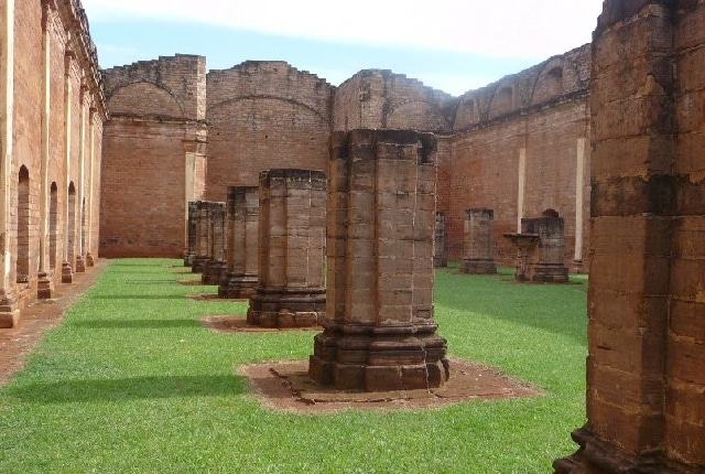 La mission des ruines de Jésus et de Trinidad