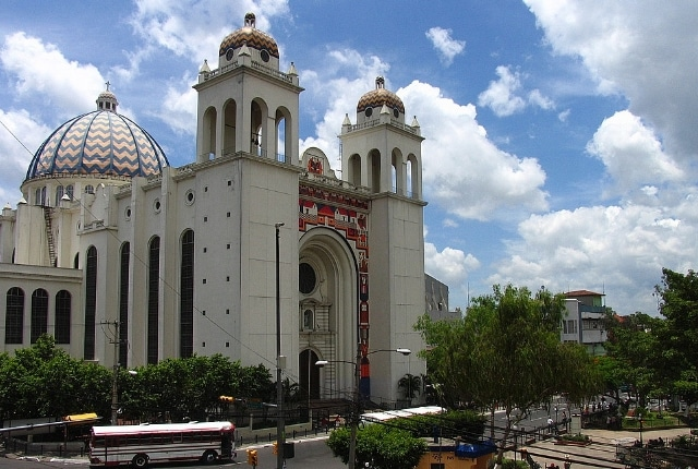La ville de San Salvador