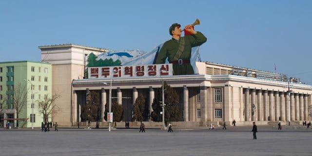 Voyager seul en Corée du nord