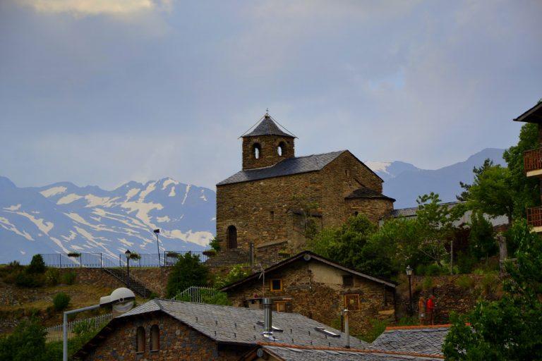 Visiter Anyós - Église de Saint-Christophe