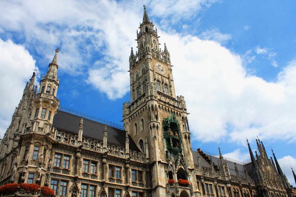 Visiter la mairie de Munich