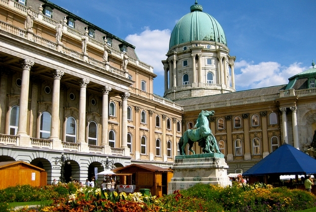 Voir le palais royal, château de Buda