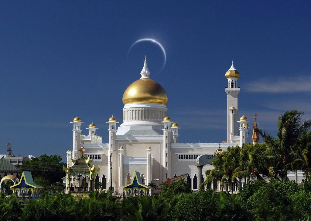 la mosquée Omar Ali Saifuddien