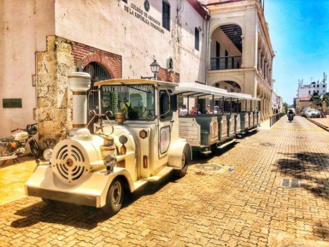 Visite du quartier colonial à Saint Domingue:
