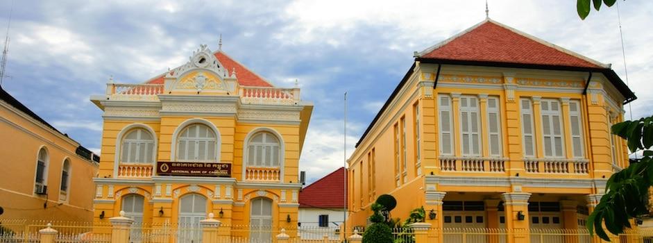 Battambang et bâtiments coloniaux