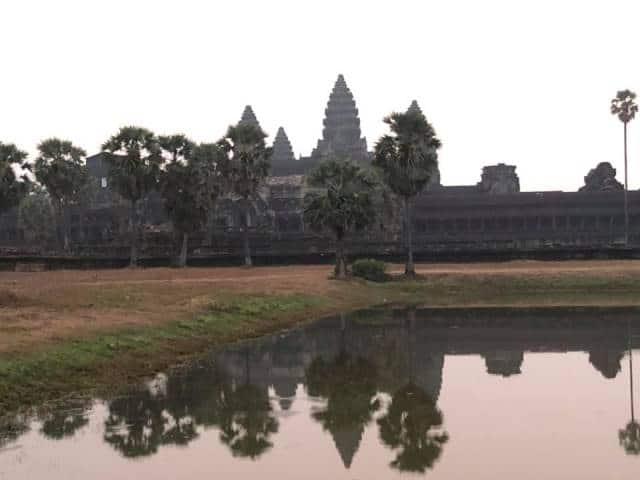 Le temple de Angkor Vat:
