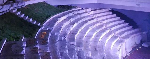 Le stade romain à Plovdiv