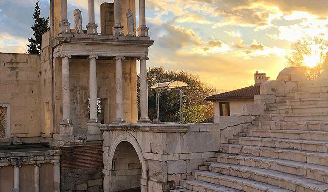 Visiter le théâtre antique de Plovdiv