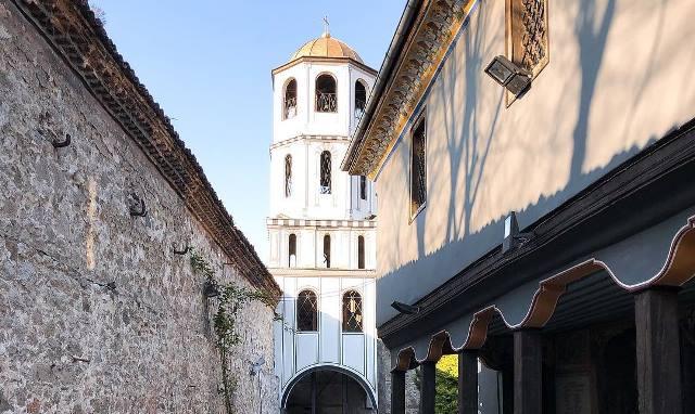 La tour de l'horloge à Plovdiv